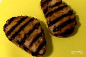 Паста из цукини с курицей  - фото шаг 7