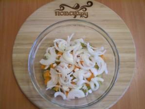 Салат с печенью куриной - фото шаг 5