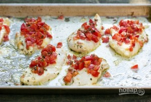 Курица с помидорами и сыром в духовке - фото шаг 3