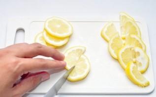 Украшения из лимона - фото шаг 2