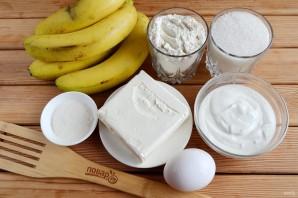 Банановый пирог со сметанной заливкой - фото шаг 1