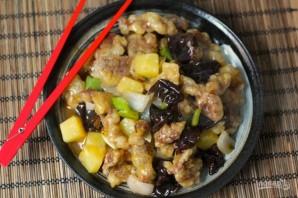 Свинина в кисло-сладком соусе по-китайски - фото шаг 6