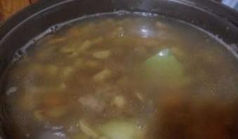 Суп грибной с гречкой - фото шаг 5