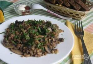 Гречка с грибами и луком - фото шаг 7