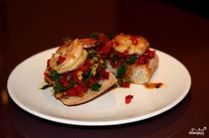 Острые бутерброды с креветками - фото шаг 7
