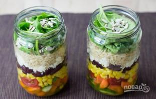 """Овощной салат """"Витамины в баночке"""" - фото шаг 6"""