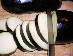 Баклажаны с сыром и чесноком - фото шаг 1