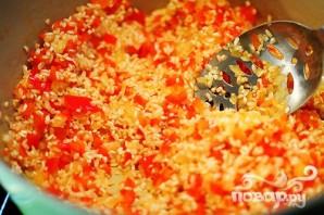 Ризотто с красным перцем - фото шаг 8
