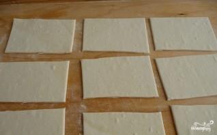 Слоеные пирожки в аэрогриле - фото шаг 1