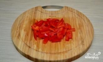 Курица с рисовой лапшой и соевым соусом - фото шаг 4