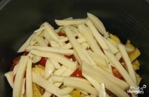 Картошка с сыром сулугуни - фото шаг 6