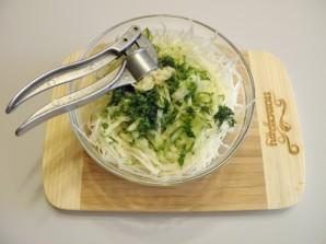 Салат из капусты - фото шаг 5