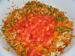 Заправка из моркови и лука на зиму - фото шаг 2