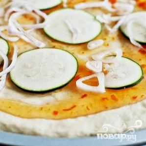 Тайская пицца с курицей - фото шаг 3