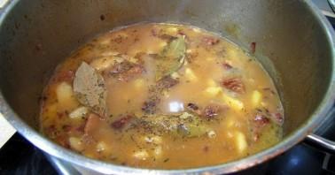 Мясной соус с картошкой - фото шаг 8