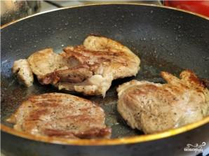 Мясо в чесночном соусе - фото шаг 4