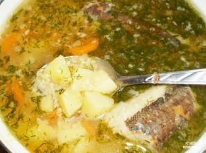 Суп картофельный с рыбой - фото шаг 7