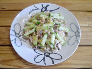 Салат к макаронам - фото шаг 8