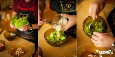 Салат из раковых шеек - фото шаг 13