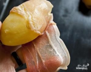 Картофель на шампурах - фото шаг 4