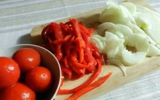 Телятина с болгарским перцем - фото шаг 1