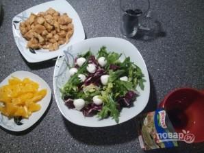 Салат из курицы с апельсинами - фото шаг 3