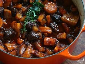 Овощное рагу с мясом - фото шаг 5