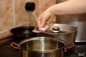 Суп из шпината замороженного - фото шаг 2