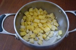Суп с гречкой без мяса - фото шаг 1