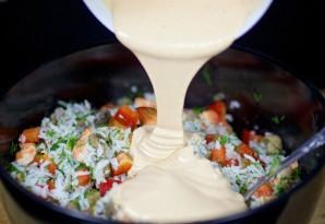Салат с жареными грибами - фото шаг 13