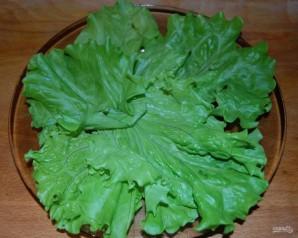 Слоеный салат с шампиньонами - фото шаг 1