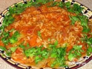 Рис с луком-пореем - фото шаг 5