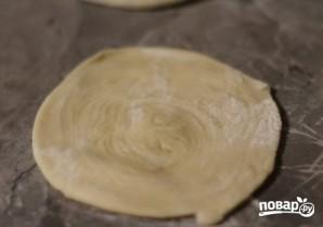 Слоеное тесто для самсы - фото шаг 11