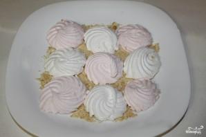 Торт из зефира без выпечки с печеньем - фото шаг 2