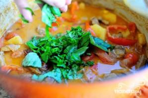 Утка по-тайски с карри и овощами - фото шаг 7