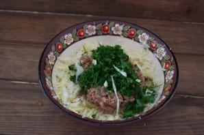 Салат с тунцом и сыром - фото шаг 3