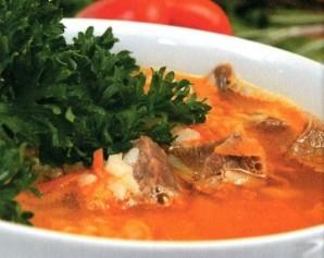 Суп из баранины и риса - фото шаг 10