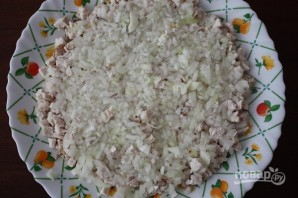 Салат с куриным филе и ананасами - фото шаг 2