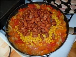 Рагу по-мексикански с курицей - фото шаг 6