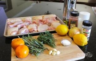 Мясо курицы в духовке - фото шаг 1