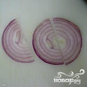 Пряный салат из огурцов - фото шаг 3