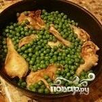 Курица с горохом - фото шаг 5
