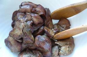 Куриная печень в аэрогриле - фото шаг 3