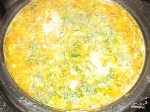 Суп с сыром и грибами - фото шаг 7