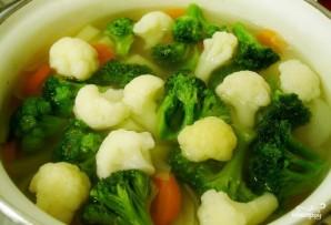Суп из индейки с брокколи - фото шаг 3