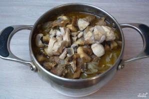 Говядина под грибным соусом - фото шаг 5