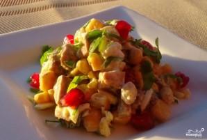 Салат из печени трески с кукурузой - фото шаг 5