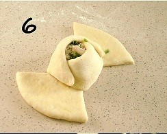 Пирожки Розочки - фото шаг 6