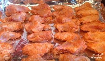 Острые крылышки в духовке - фото шаг 4