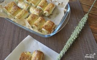 Лаваш с картофельным пюре - фото шаг 9